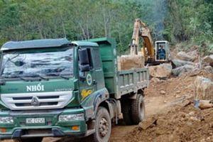 Thanh Hóa: Cty Quân Sơn tự ý khai thác mỏ đá khi chưa đủ giấy phép