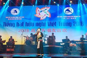Chung kết Cuộc thi Tiếng hát Hữu nghị Việt - Trung năm 2018