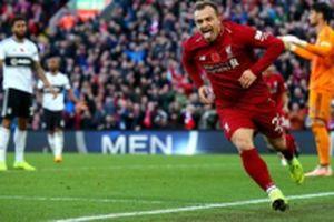 Salah, Shaqiri đưa Liverpool tạm chiếm ngôi đầu
