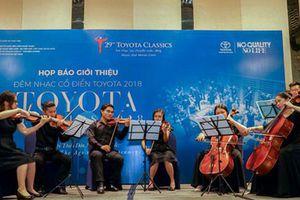 Đêm nhạc cổ điển Toyota 2018