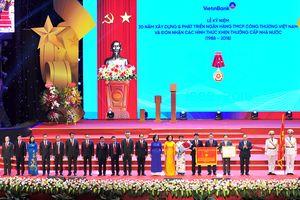 Vietinbank đón nhận Huân chương Lao động hạng Nhất