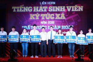 Liên hoan Tiếng hát sinh viên ký túc xá năm 2018 'Đất nước ngàn hoa'