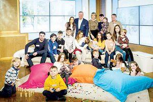 Gia đình đông con nhất nước Anh