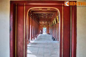 Soi hệ thống hành lang khủng mới khôi phục ở Tử Cấm Thành Huế