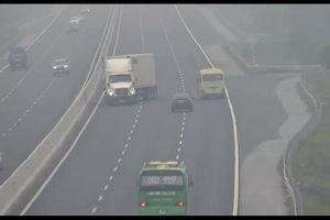 Vụ xe container quay đầu, đi ngược chiều trên cao tốc Hà Nội-Hải Phòng: Đã tìm ra tài xế