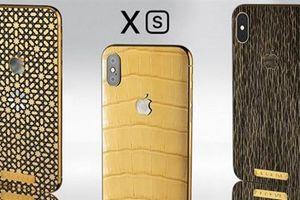 Xuất hiện bộ sưu tập iPhone Xs có vỏ từ da động vật dành cho người chịu chơi