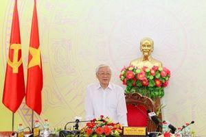 Tổng Bí thư, Chủ tịch nước Nguyễn Phú Trọng thăm và làm việc tại Đắk Lắk