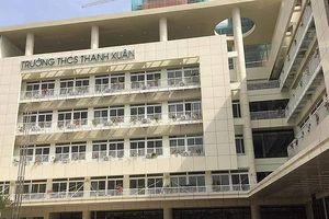 Xôn xao đóng tiền ở Trường THCS Thanh Xuân, phụ phí gấp 10 học phí