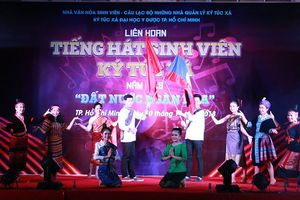 Bùng cháy đêm Gala tổng kết Liên hoan Tiếng hát Sinh viên KTX 2018