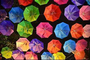 Hà Nội xuất hiện con đường ô đầy màu sắc