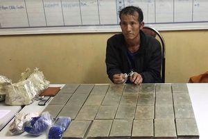 Sơn La: Bắt đối tượng vận chuyển 30 bánh heroin ở Lóng Luông