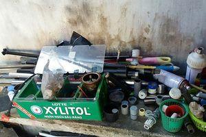 Điều tra vụ trộm, phát hiện 'xưởng' súng tự chế