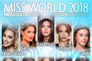 Hoa hậu Tiểu Vy được dự đoán lọt top 10 chung cuộc Miss World 2018