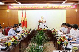 Tổng Bí thư, Chủ tịch nước làm việc với Ban Thường vụ Tỉnh ủy Đắk Lắk