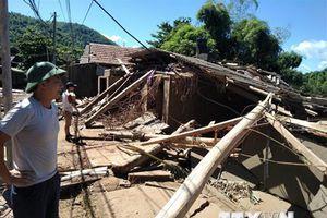 Lâm Đồng: Sập nhà giữa đêm, cả gia đình may mắn thoát nạn