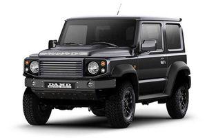 Hãng độ Nhật Bản biến hình Suzuki Jimmy thành 'tiểu Land Rover'