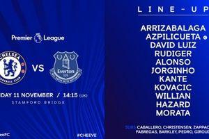 TRỰC TIẾP Chelsea 0-0 Everton: Chia điểm đáng tiếc (Kết thúc)