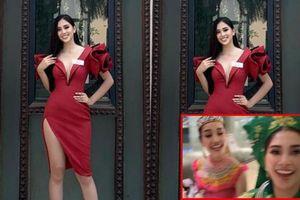 HOT: Lộ diện trang phục rực rỡ sắc màu của Tiểu Vy trong phần thi Dances Of The World tại Miss World 2018