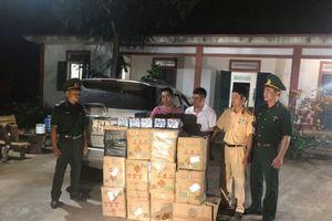 Quảng Trị: Bắt giữ 2 đối tượng vận chuyển trái phép 264 kg pháo khu vực biên giới