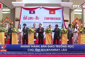 Khánh thành, bàn giao Trường học cho tỉnh Bolikhamsay, Lào