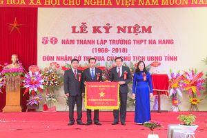 Tuyên Quang: Tự hào truyền thống 50 năm, Trường THPT Na Hang đẩy mạnh thi đua 'dạy tốt, học tốt'