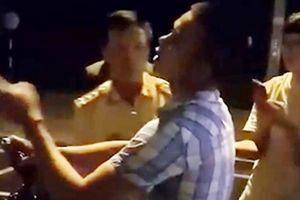 Sẽ xử lý hành chính vụ cản trở CSGT ở TP Quy Nhơn