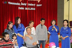 Nhân lên những tấm lòng nhân ái của Hội Mái Ấm Việt Séc