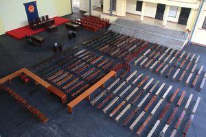 Bên trong phòng xét xử 1.000 m² trước ngày ông Phan Văn Vĩnh hầu tòa