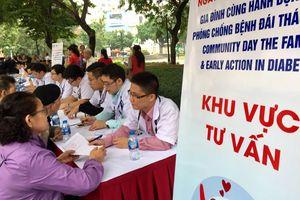 1.000 người dân được tầm soát đái tháo đường và tư vấn sức khỏe