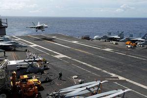 Máy bay chiến đấu F/A-18 của Mỹ rơi xuống biển Philippines