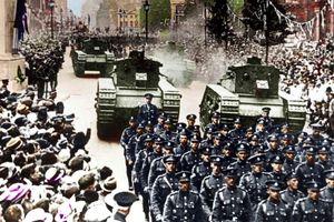 Công bố ảnh màu những khoảnh khắc lịch sử về Thế chiến 1