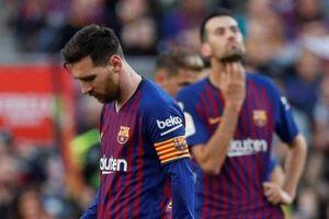 Hàng phòng ngự Barca chơi tệ nhất tại La Liga trong 20 năm qua
