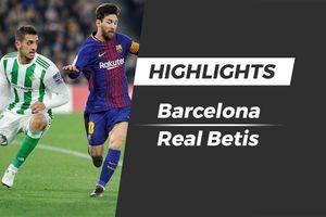 Highlights Barca thua sốc Betis ngay tại Nou Camp