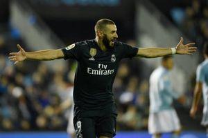Benzema tỏa sáng giúp Real giành 3 điểm trên sân Celta Vigo