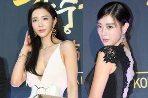 Biểu tượng sexy Hàn Quốc khoe sắc trên thảm đỏ LHP