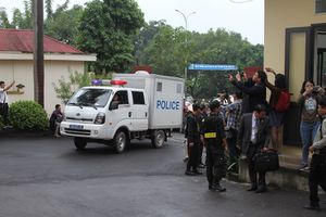 An ninh thắt chặt trước phiên tòa xét xử cựu Trung tướng Phan Văn Vĩnh