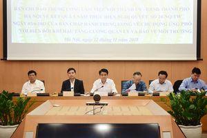 Hà Nội: Xây dựng cơ chế khuyến khích xã hội hóa công tác bảo vệ môi trường