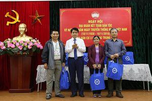 Chủ tịch Nguyễn Đức Chung dự Ngày hội Đại đoàn kết toàn dân tộc tại phường Trung Liệt