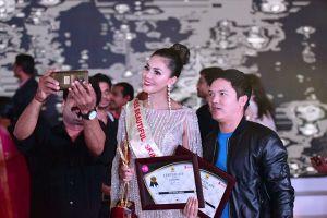 Kim Nguyên được vinh danh Hoa hậu Châu Á Việt Nam 2018
