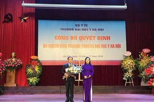 Học trò của Giáo sư người Nhật đạt Nobel Y học được bổ nhiệm làm hiệu trưởng trường Đại học Y Hà Nội