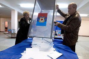 Kết quả bầu cử ở Donbass ủng hộ chính sách sáp nhập với Nga
