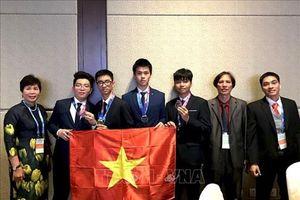 Học sinh Việt Nam 'thắng lớn' ở cuộc thi Olympic Thiên văn và Vật lý quốc tế