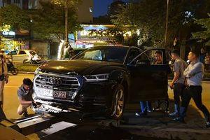 Ôtô Audi Q5 gây tai nạn liên hoàn, ít nhất 2 người bị thương