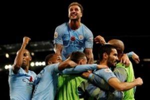 Man City đánh bại Man United 3-1, Arsenal hòa thất vọng
