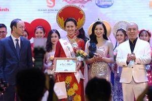 Nữ sinh cảnh sát đăng quang iMiss Thăng Long 2018