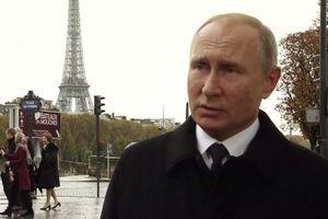 Tổng thống Putin lên tiếng về kế hoạch xây dựng 'quân đội châu Âu'