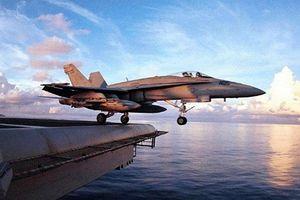 Chưa đầy 2 tháng, máy bay thứ 2 của Mỹ gặp nạn khi bay huấn luyện