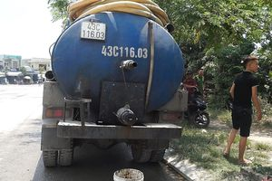 Vụ xả nhớt xuống kênh gần bãi rác Khánh Sơn: Phạt gần 400 triệu đồng
