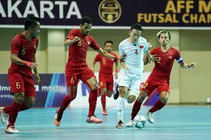 Tuyển futsal Việt Nam trắng tay tại AFF 2018