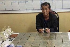 Sơn La: Bắt 1 đối tượng vận chuyển 30 bánh heroin